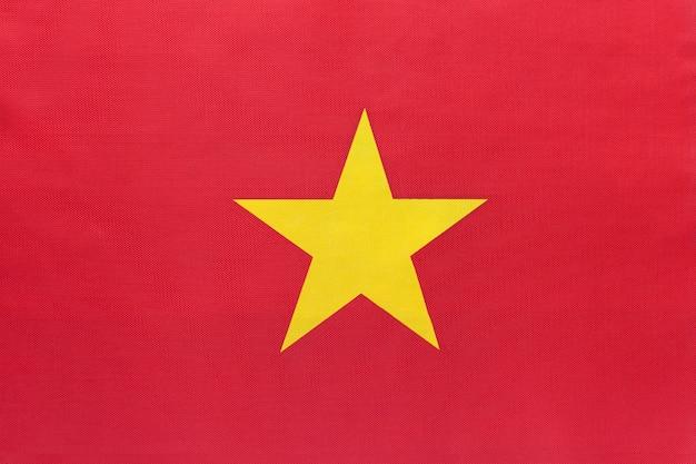 Tessuto bandiera nazionale del vietnam