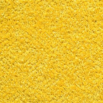 Tessuto di tappeto giallo