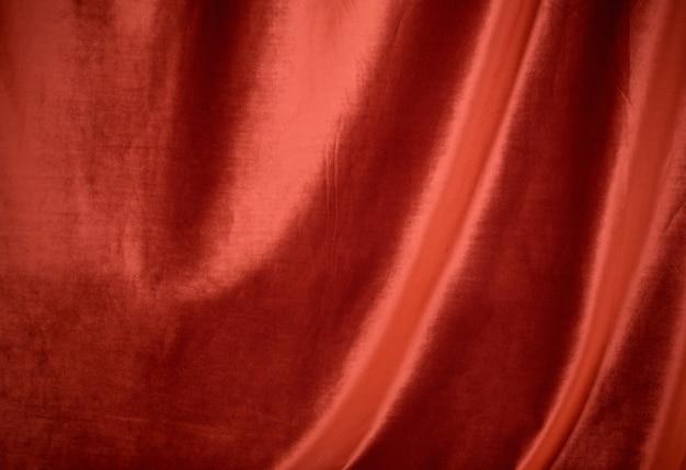 Tessuto di velluto rosso