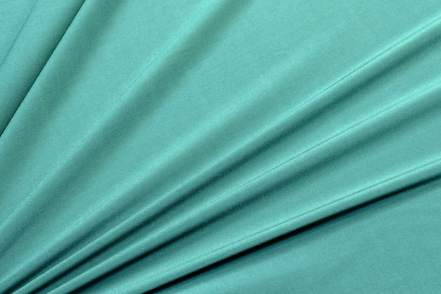 Tessuto di viscosa ed elastan verde