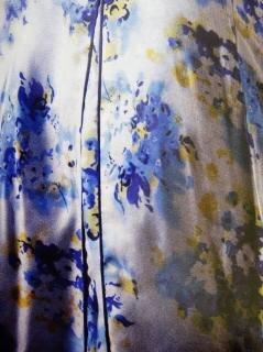Tessuto disegno a colori, bianco, stile