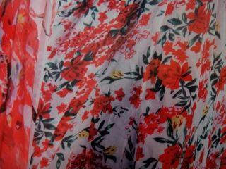 Tessuto disegno a colori, la moda