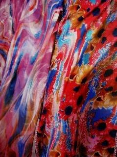 Tessuto disegno a colori, puntini