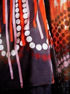 Tessuto disegno a colori, sfondo