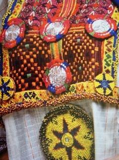 Tessuto disegno a colori, struttura, design