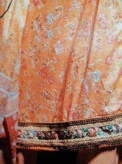 Tessuto disegno a colori, vestiti
