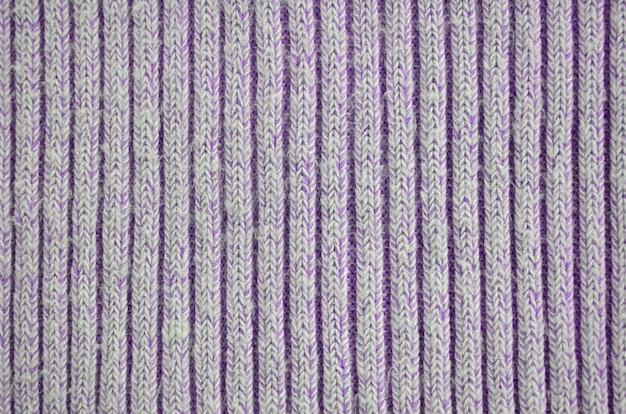 Tessuto in maglia di cotone, trama di lana