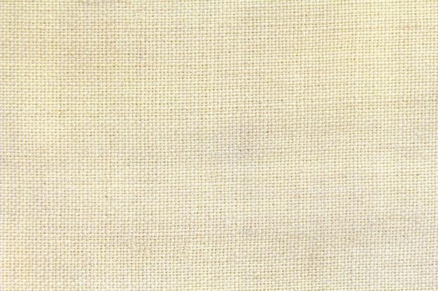 Tessuto naturale di cotone lino, trama di sfondo eco