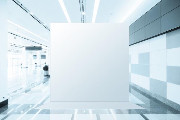 Tessuto pop-up unità base banner pubblicitario media display fondale vuoto