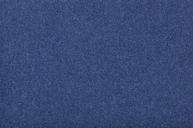 Tessuto scamosciato opaco blu navy trama vellutata di feltro,