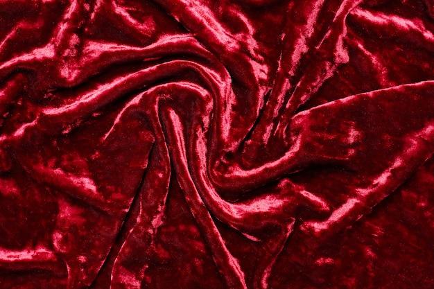 Tessuto velluto bordeaux, pieghe