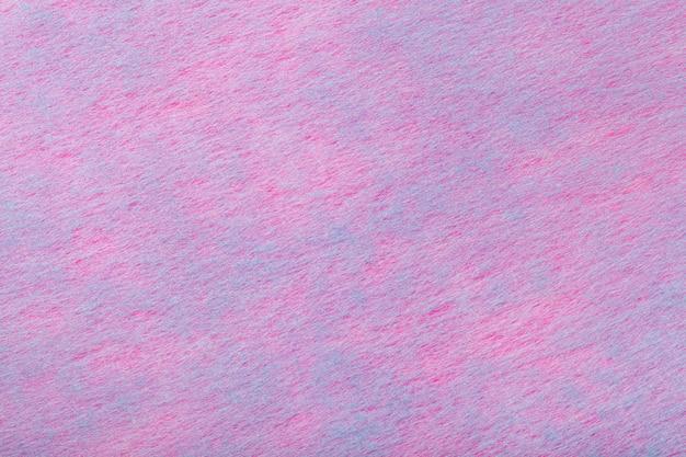 Tessuto viola chiaro e blu di feltro.