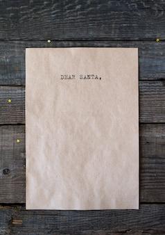 Testo cara santa lettera rustica