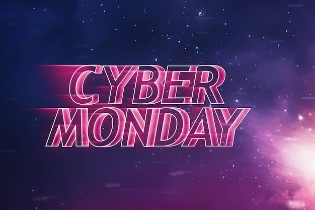 Testo del cyber monday