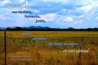 Testo spagnolo en esto pensad