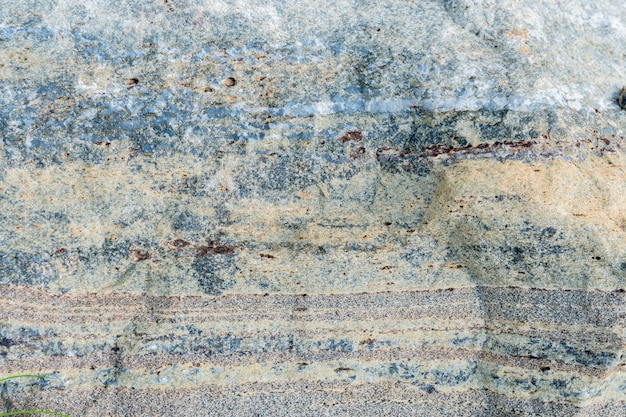 Texture della pietra con varie impregnazioni.
