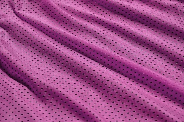 Texture di abbigliamento sportivo realizzato in fibra di poliestere. capispalla per l'allenamento sportivo ha una trama a rete di tessuto di nylon elastico