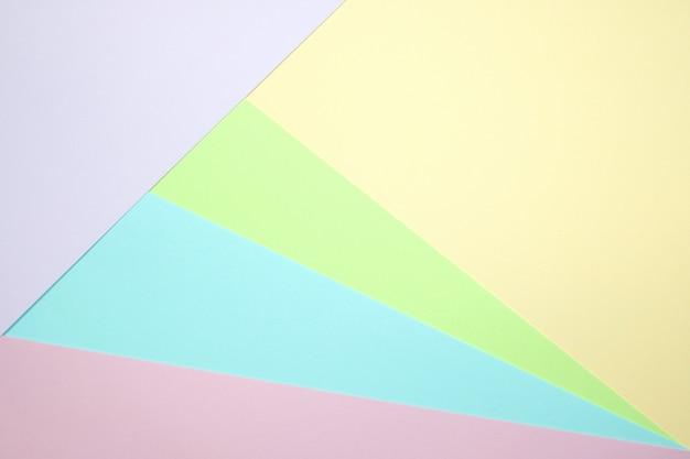 Texture di carta colorata pastello alla moda.