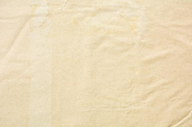 Texture di carta riciclata marrone danno naturale