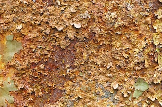 Texture di corrosione del metallo.