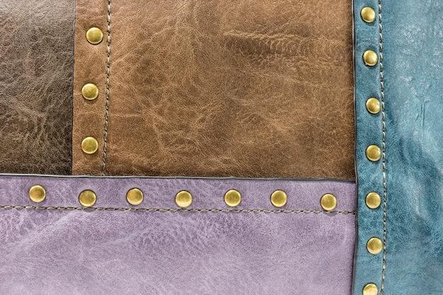 Texture di pelle colorata
