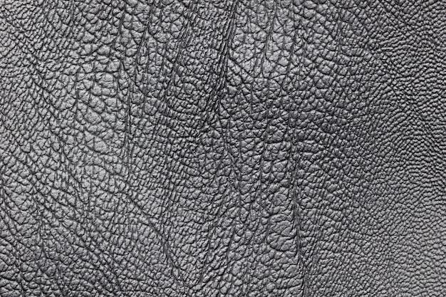 Texture di pelle nera. concetto di abbigliamento o moda.