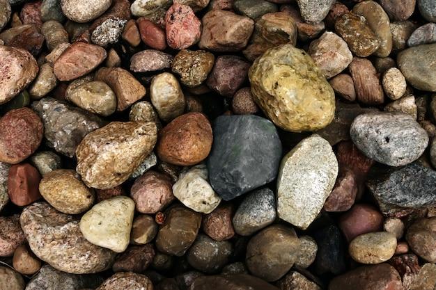 Texture di sfondo in pietra ciottoli