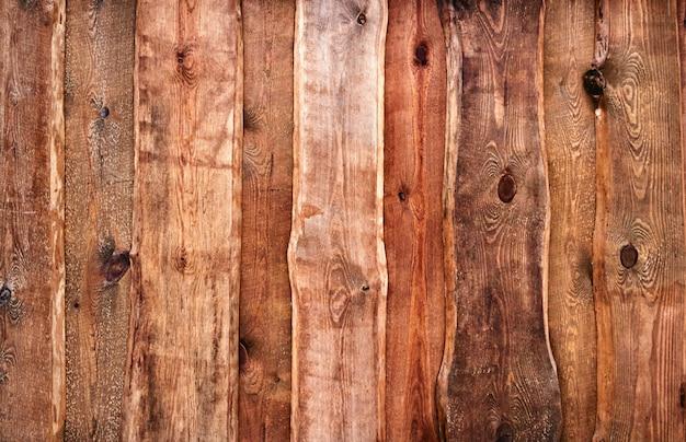 Texture di vecchie tavole di legno.