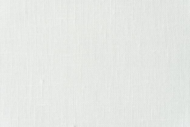 Texture e superficie di tela bianca astratta