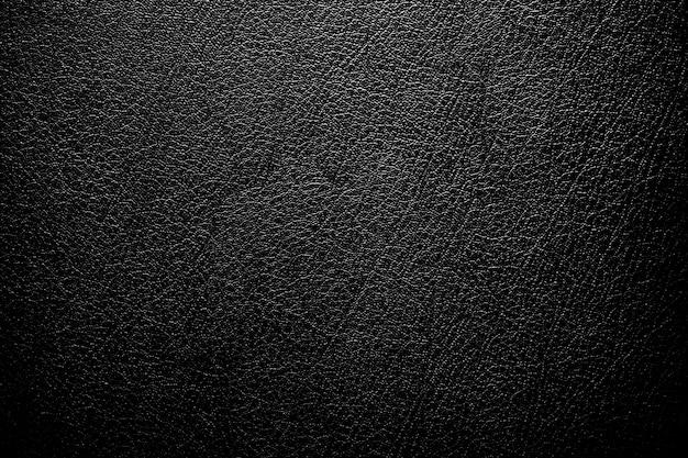 Texture in pelle con luce sfumata utilizzata come sfondo classico di lusso