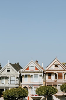 The painted ladies of san francisco, stati uniti d'america