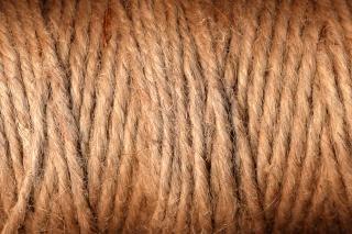 Thread filato marrone