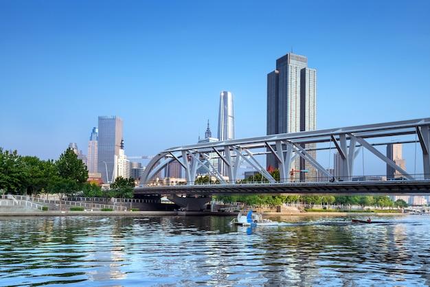 Tianjin cityscape, cina