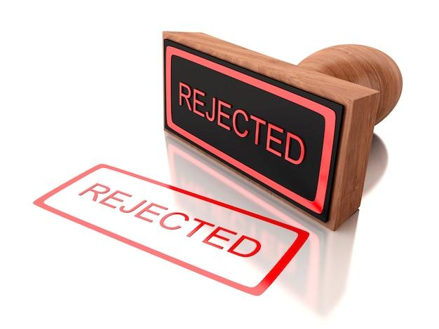 Timbro 3d respinto