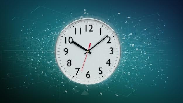 Timer orologio isolato