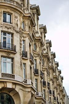 Tipici edifici francesi