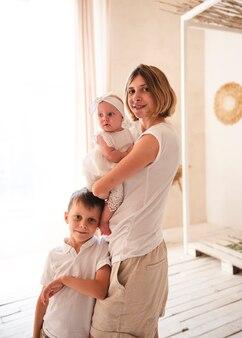 Tiro medio per madre e figli