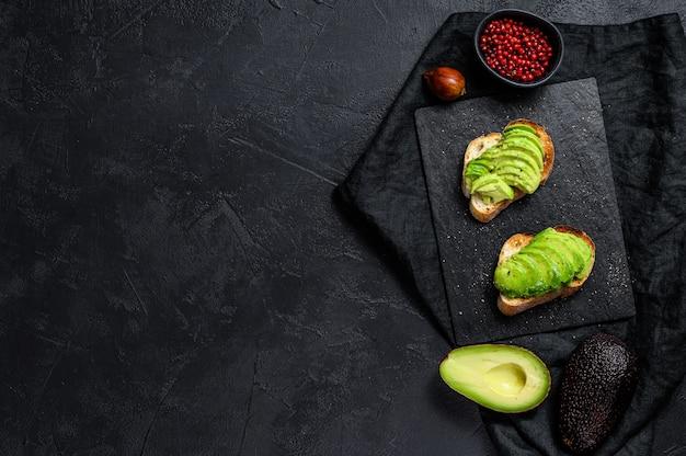 Toast all'avocado.