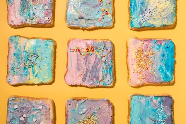 Toast colorati