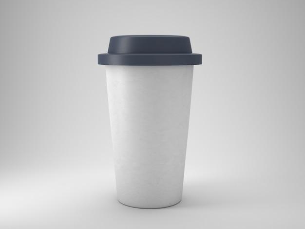 Togliere la tazza di caffè in plastica