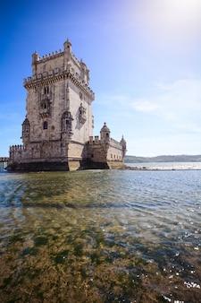 Torre di belén - lisbona, portogallo.