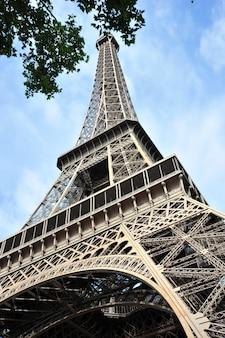 Torre eifel a parigi francia