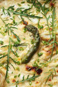 Torta agli asparagi