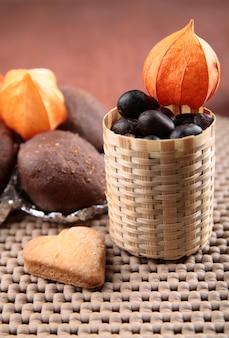 Torta al cioccolato con cannella