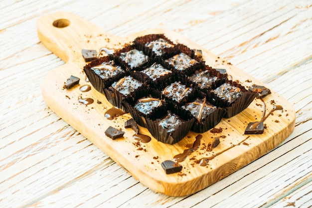 Torta al cioccolato e brownies