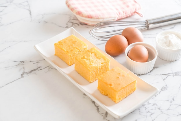 Torta all'arancia fatta in casa