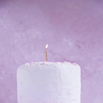 Torta di compleanno color pastello