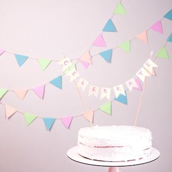 Torta di compleanno still life