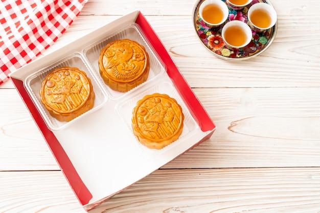 Torta di luna cinese per il festival cinese di metà autunno