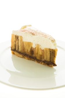 Torta e torta di banana banoffee
